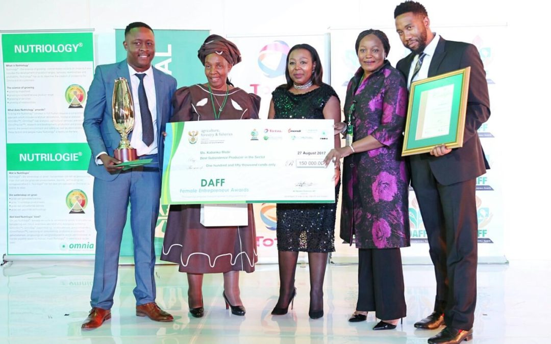 Department of Agriculture, Forestry and Fisheries Female Entrepreneur Awards
